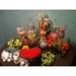 Traditional Candy Buffet 11 Jar Set Rental